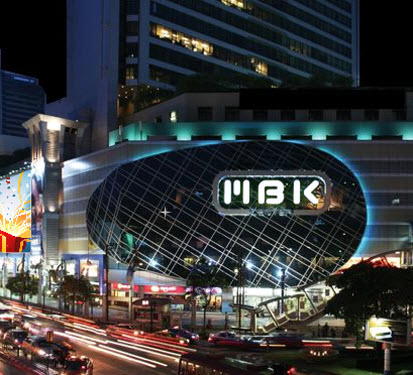 MBK bangkok shopping mall