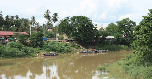 Ferry Pier in Battambang