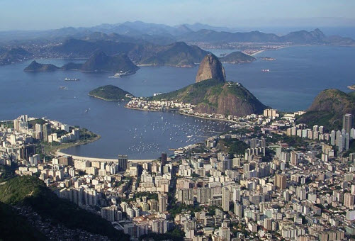 View over Rio de Janeiro global travel mate - travel advice and trip guide