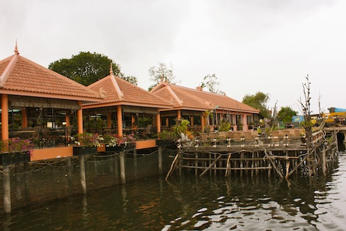 Cafe Laurent at Koh Kong City in Cambodia offers International Cuisine