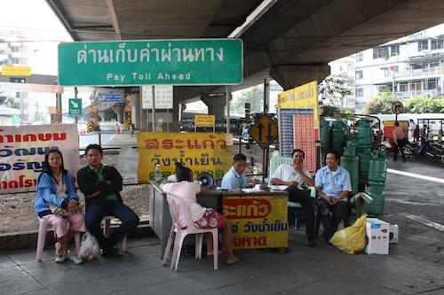 Minivan station to Aranyaprathet at Victory Monument