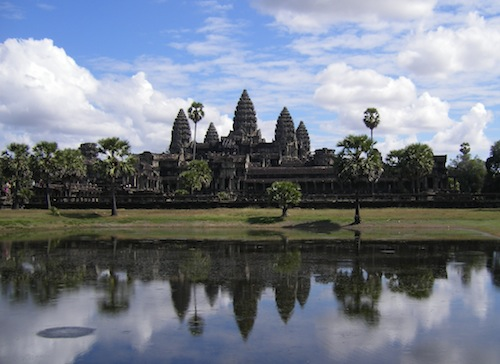 The Temple of Angkor Wat in Siem Reap Cambodia