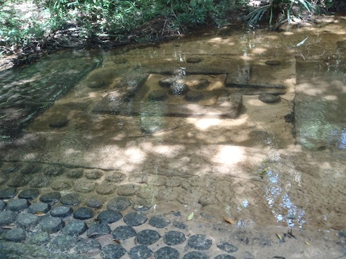lingas at Kbal Spean in Angkor Siem Reap Cambodia