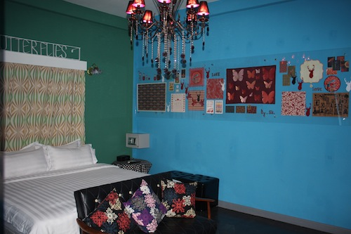 All rooms at Reflections Hotel in Siem Reap Cambodia are designed individually