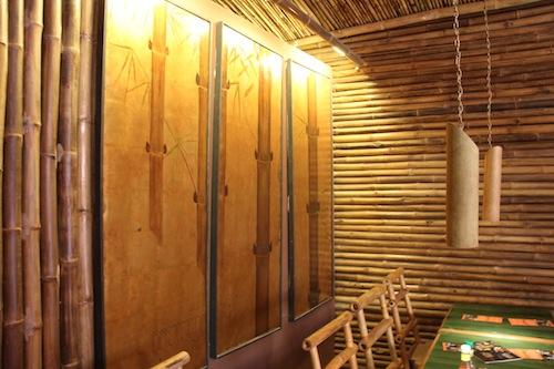 Bamboo Restaurant In Siem Reap Cambodia