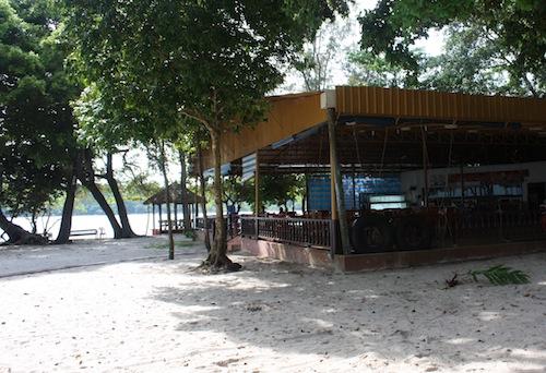Treasure Island Seafood Restaurant At Koh Pos Beach