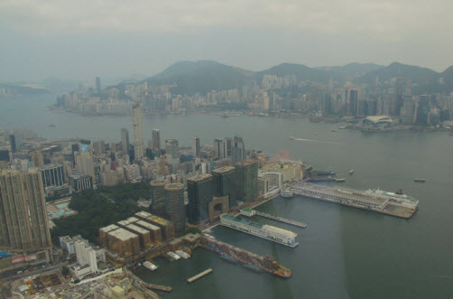 View of Kowloon and Hong Kong Island from the Sky100