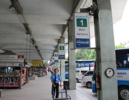 ekkamai platform eastern bus station