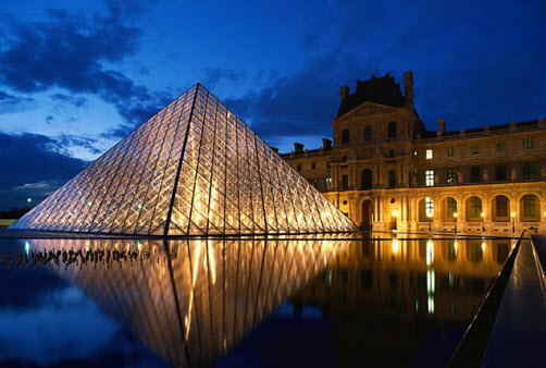 The Louvre museum in Paris France - Travel Guide