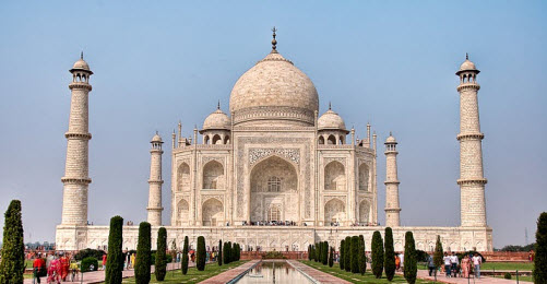 travel info and travel advice Taj Mahal Agra India