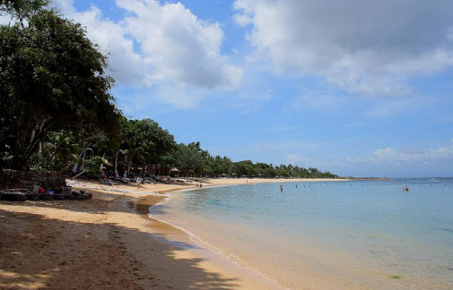 Nusa Dua Beach on Bali Indonesia - Travel Advice and Trip Info - Free World Travel Guide