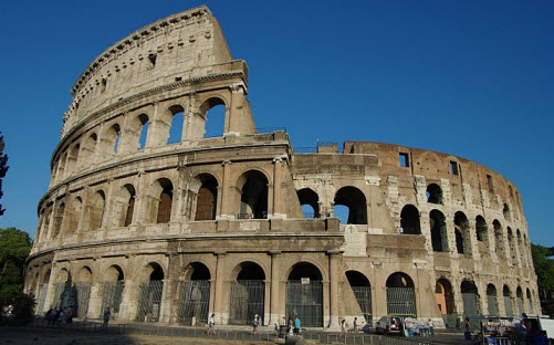 The Colosseum in Rome Italy Free travel guide, trip info and travel advice