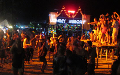 Kho phangan full moon party