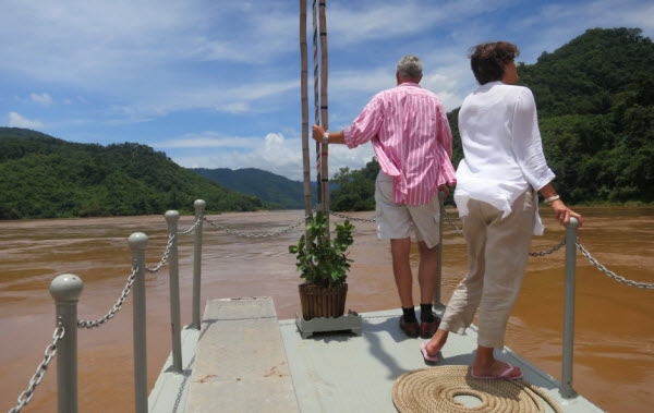 On the Mekong with Luang Say Laos