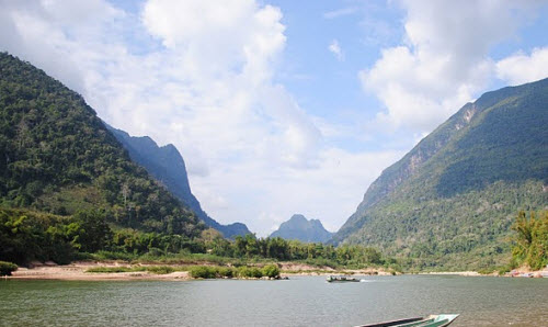 Nong Kiaw in Laos luang Prabang