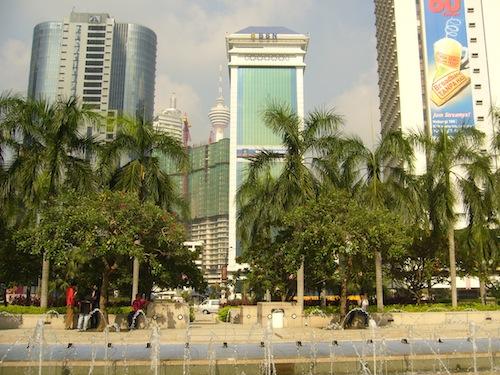 The Golden Triangle in Kuala Lumpur Malaysia