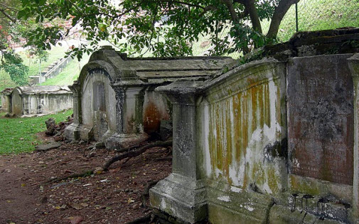 The Dutch Cemetery in Malacca Malaysia