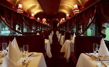 dine in style in the tramcar restaurant. Black Bedroom Furniture Sets. Home Design Ideas