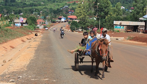 Mondulkiri local transport