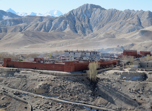 Lo Manthang in Upper Mustang, the Kingdom of Lo