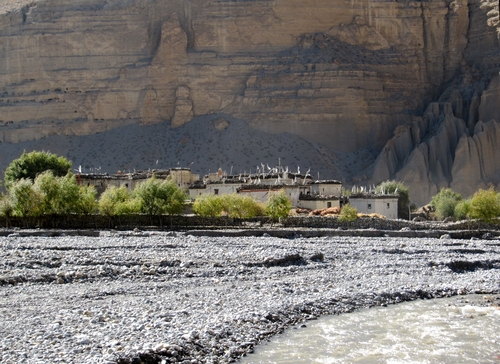 Village in Upper Mustang