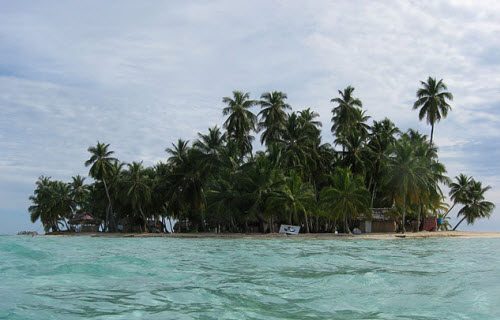 Island in the San Blas Archipelago