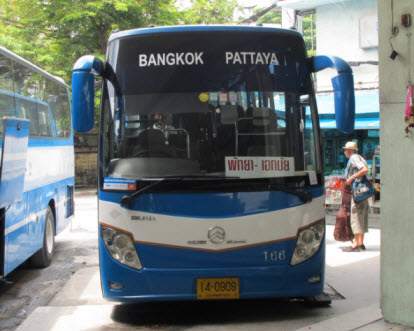 Bus bangkok to Pattaya