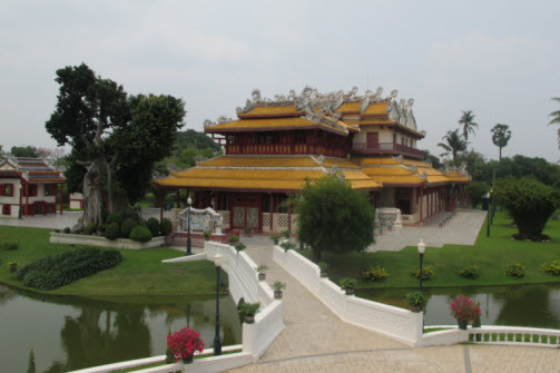 The Chinese temple at Bangpa in Palace