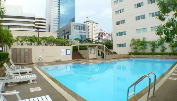 Apartments Grand Park View swimming pool