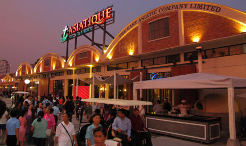 Bangkok Asiatique the River Front