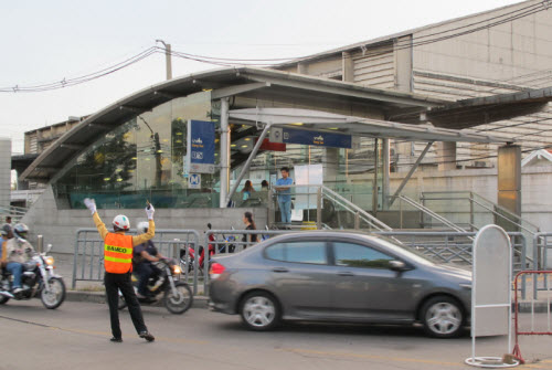 Bang Sue MRT station in Bangkok