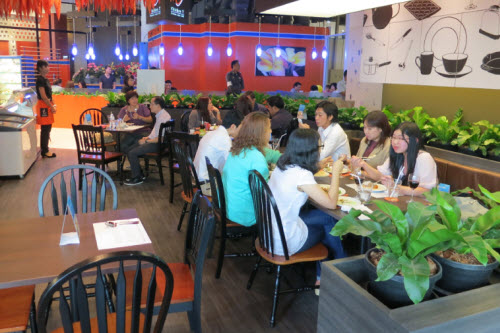 The Chicken T restaurant at the Gateway Mall Ekkamai