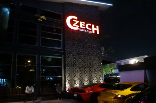 Czech trendy nightclub in Bangkok