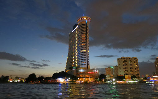 The Hilton Hotel on the Chao Praya River