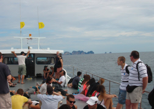 Ferry from Phuket to Koh Phi Phi