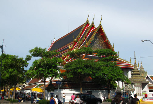 Wat Pho temple in the Old City