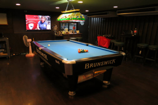 The Game Sports Bar and Grill on Sukhumvit in Bangkok Thailand