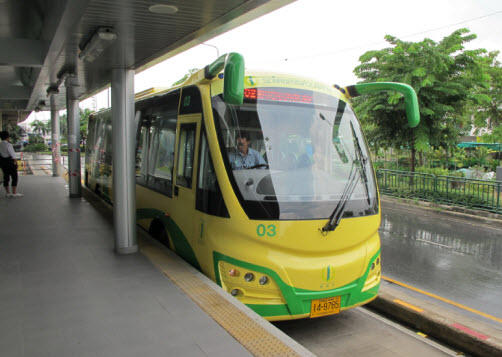 BRT Bus in Bangkok