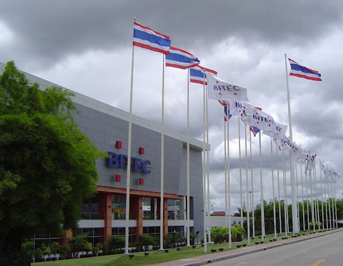 BITEC exhibition centre in Bangna Bangkok
