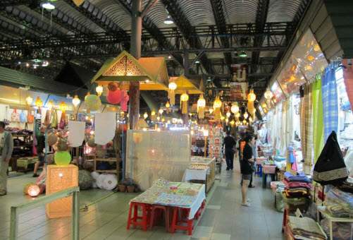 The Night Bazaar Area in Chiang Mai