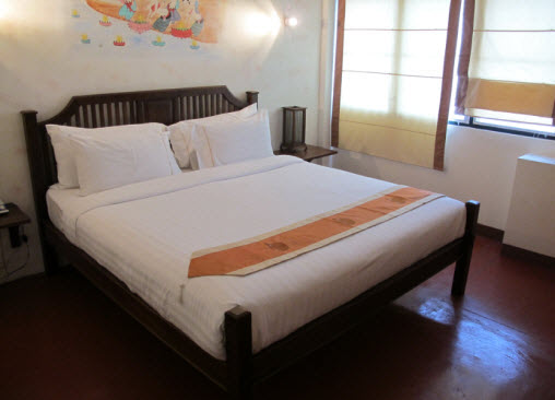 Room at the Sawasdee Guesthouse in Chiang Mai