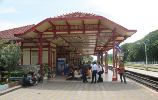 Train station at Hua Hin