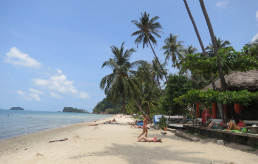 Beach on Koh Chang Island