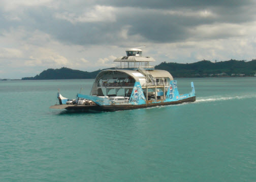 Koh Chang Car Ferry Price