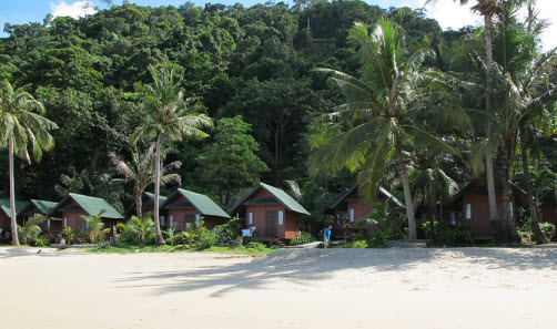 Bungalows at the KC Granbde on White Sands Beach on Koh Chang