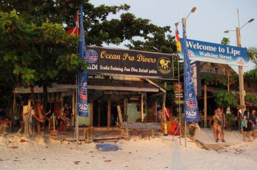 koh lipe pattaya beach map