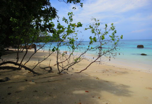 Sanom Beach on Koh Lipe Island