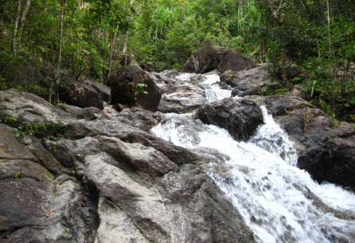 Phaeng Waterfalls on koh Phangan Island