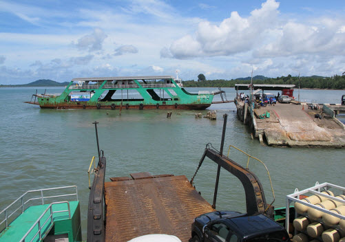 how to get to koh chang