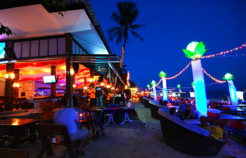 The Arkbar on the beach on Chaeweng - Koh Samui Guide